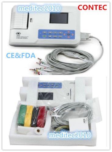 Contec Ecg300G 3 Channel 12 Lead Electrocardiograma
