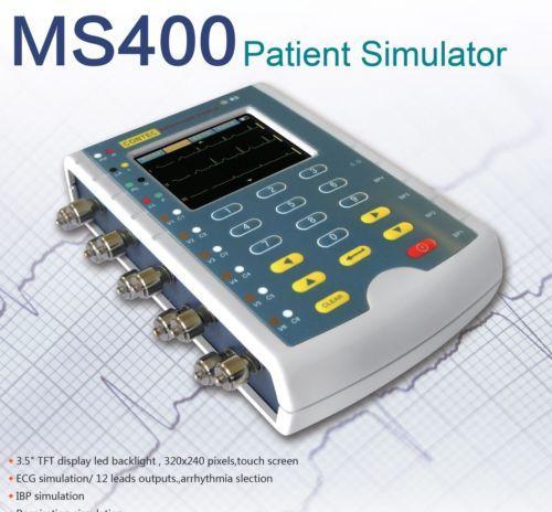 Contec Ms400 Simulador Paciente Do Multiparâmetro Ecg Usa