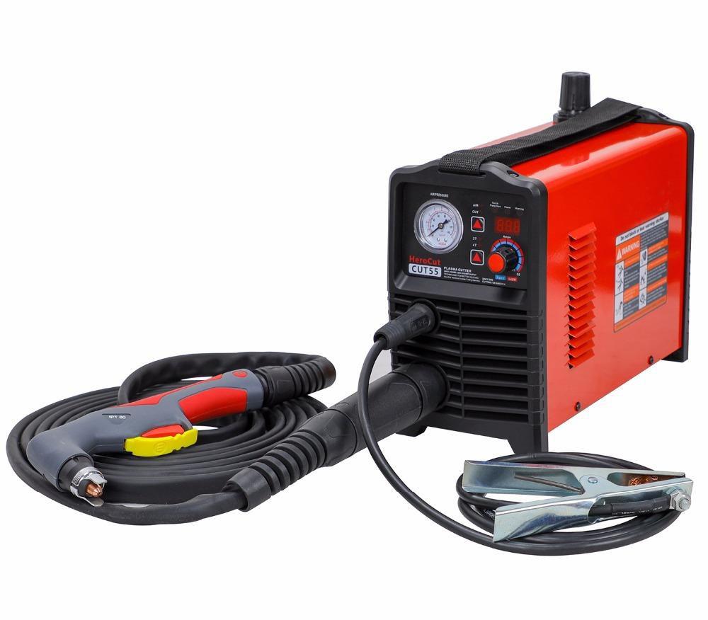 Cortador De Plasma Igbt Controle Digital Corte Cnc Cut55