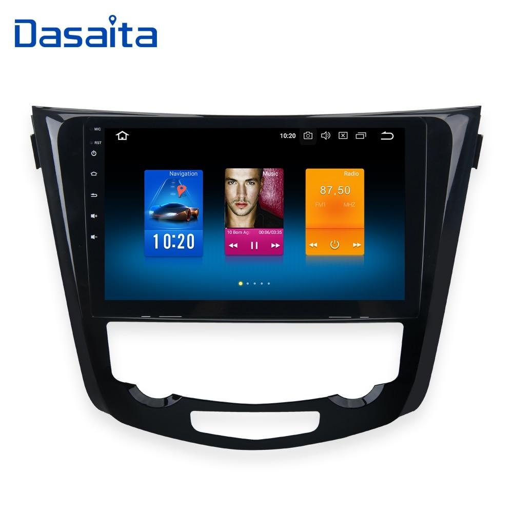 "Dasaita 10.2"" Android 8.0 Gps Player Nissan X-Trail Qashqail"