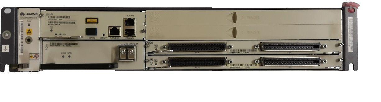 F. Dslam Huawei Ma5616 Chassis Ccud+Pdia+2Adle (Adsl 64P)