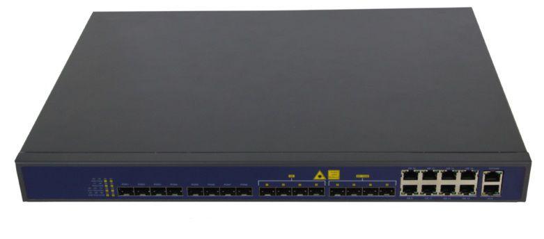 F. Epon Olt V1600D8 1U 16 Ports 08 Pon + 4Sfp + 4 Sfp 10Gb