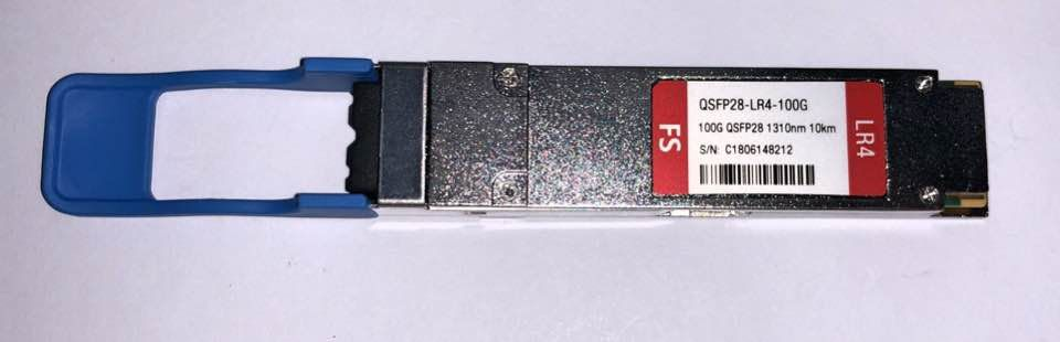 F. M Qsfp28 100G 10Km 1310Nm Aqsfp28-Lr4-100G