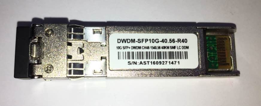 F. M Sfp+ 10G 40Km Dwdm-Sfp10G-40.56 C46 C/Cisco Mux-Demux