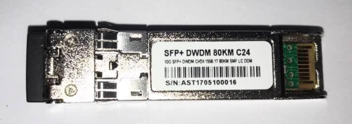F. M Sfp+ 10G 80Km Dwdm-Sfp10G-58.17 C24 C/Cisco Mux-Demux