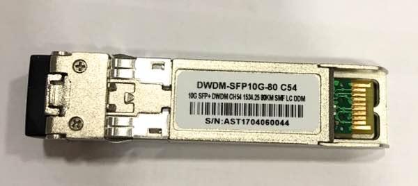 F. M Sfp+ 10G 80Km Dwdm-Sfp10G-80 C54 C/Cisco Mux-Demux