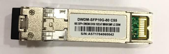 F. M Sfp+ 10G 80Km Dwdm-Sfp10G-80 C55 C/Cisco Mux-Demux