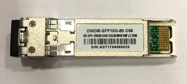 F. M Sfp+ 10G 80Km Dwdm-Sfp10G-80 C56 C/Cisco Mux-Demux