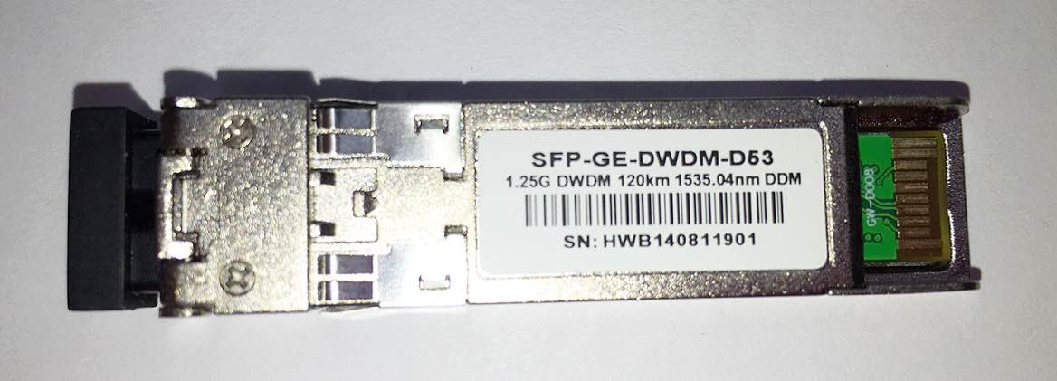 F. M Sfp 1.25G 120Km Ge-Z2D-D53 Dwdm Tx1535.04Nm