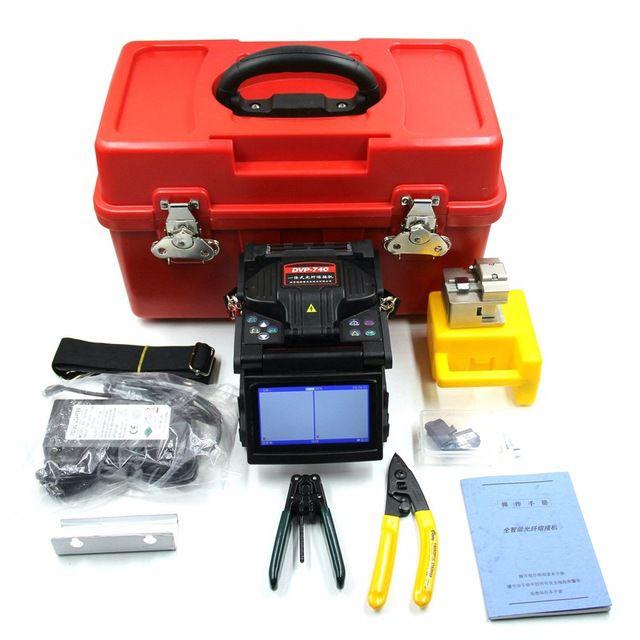 F. Maquina De Fusão Dvp-740 Kit Mini Fttx Fusion Splicer