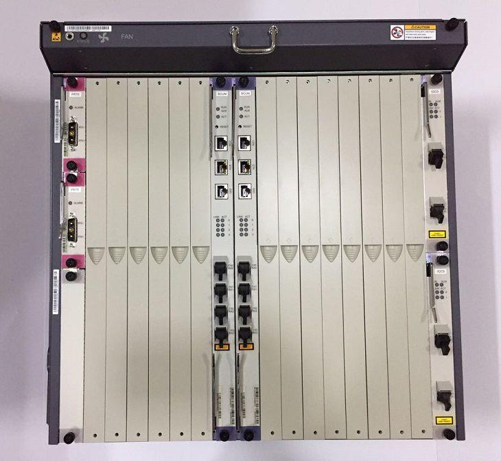 """F. Olt Huawei 10U 19"""" Ma5680T/5600 2 Uplink X2Cs 10Gb-2 Scun"""