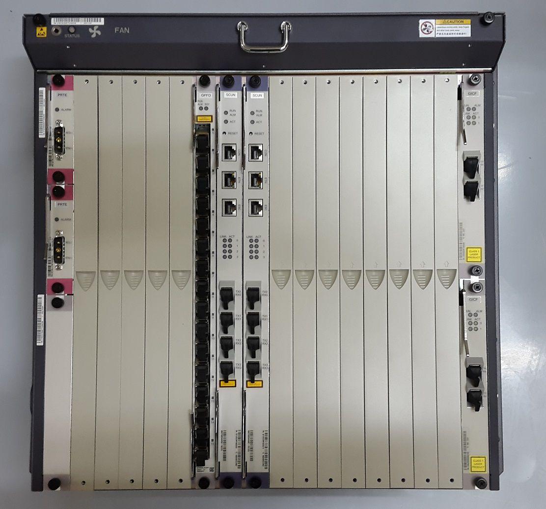 "F. Olt Huawei 10U 19""Ma5680T/5600 2X Uplink Gicf Com Gpfd 16"