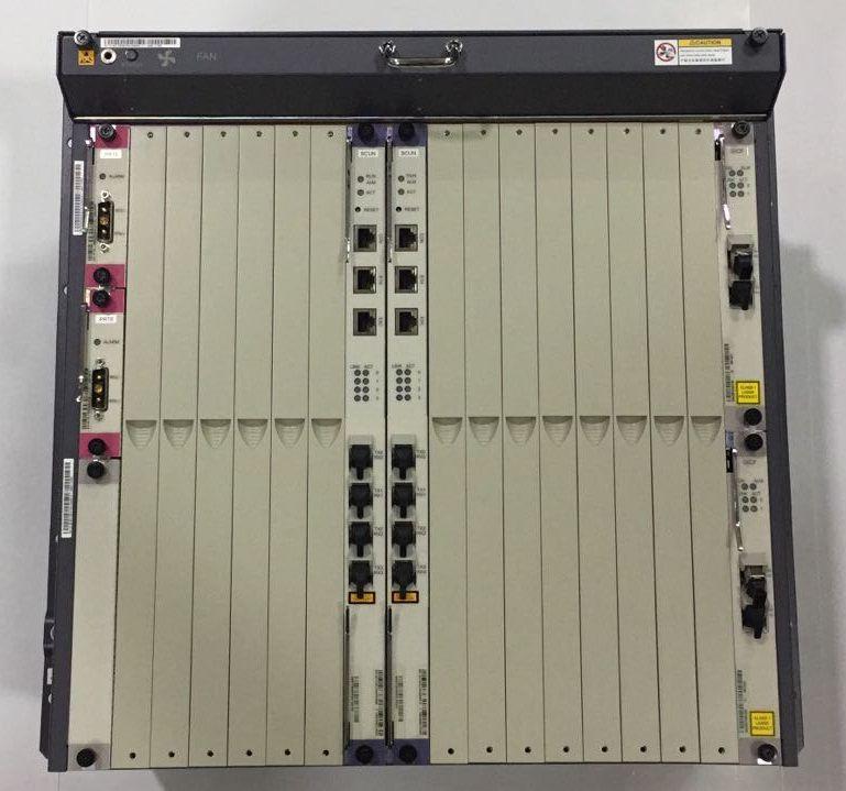 """F. Olt Huawei 10U 19"""" Ma5680T/5600 2X Uplink Gicf Sfp 1Giga"""