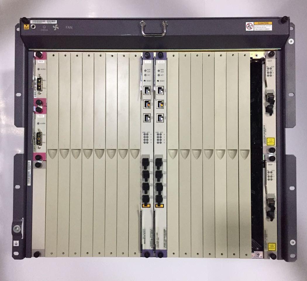 """F. Olt Huawei 10U 21"""" Ma5680T/5600 2X Uplink Gicf Sfp 1Giga"""