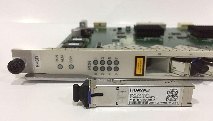 F. Olt Huawei Placa Epon 8 Portas Epsd-Px20+