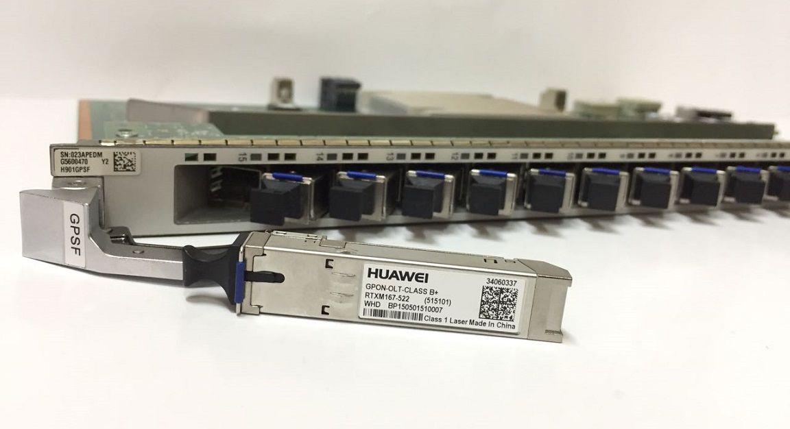 F. Olt Huawei Placa Gpsf 16 Gpon B+ (Ma5800)