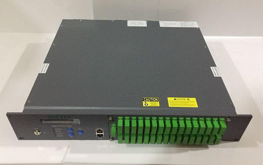 F. Softel Spa-32-20 Amplificador Óptico 32 Portas 20Db 2U