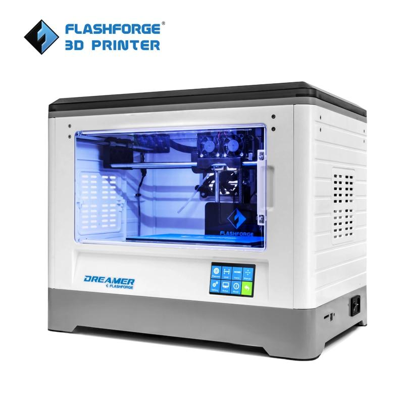 Impressora 3D Flashforge Wi-Fi Lcd Touth Dual Ext Câmara W/2