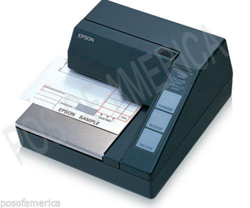 Impressora Epson Tm-U295 Slip Printer Serial