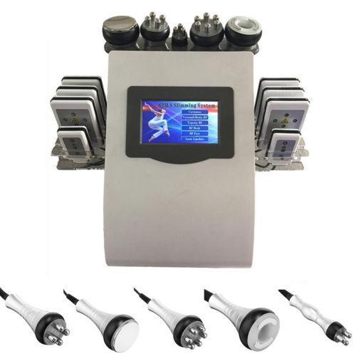 Máquina Removedor De Celulite Ultra-Sônica 6In1 Cav 40K