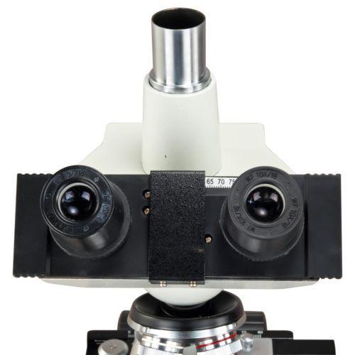 Microscópio Omax 40X-2500X Led Digital  Camera 5Mp