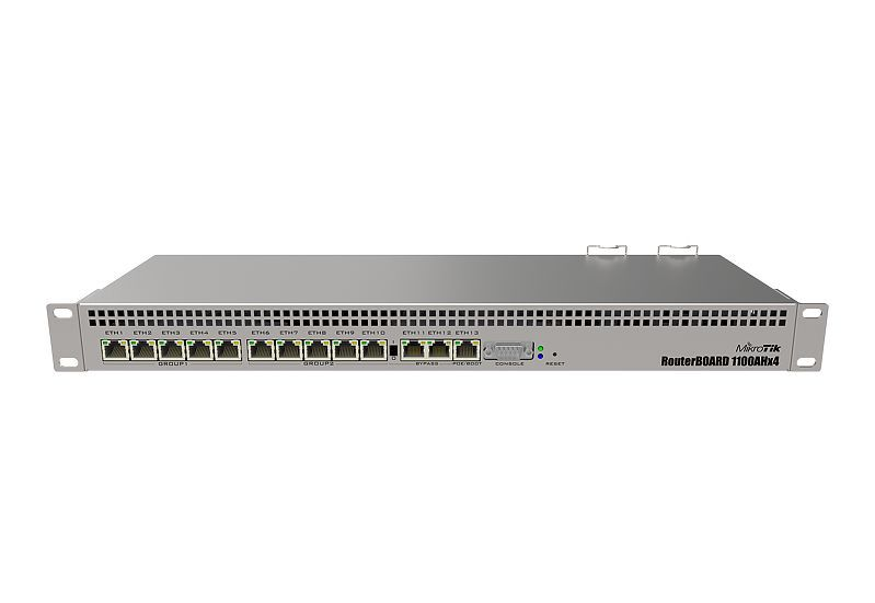 Mikrotik- Routerboard Rb 1100X4 (1100Ahx4)L6