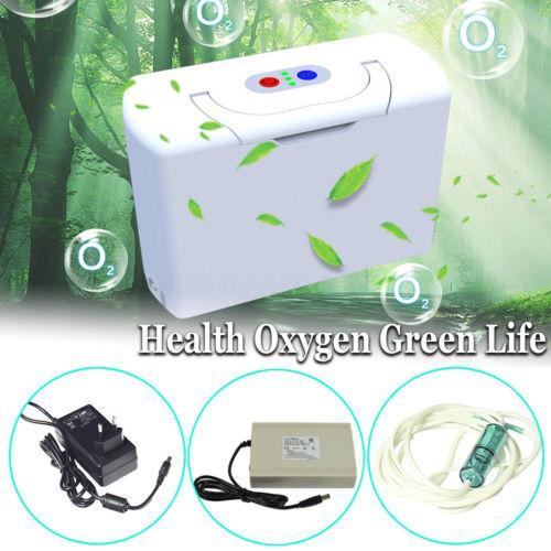 Mini Portátil Gerador Do Concentrador Do Oxigênio