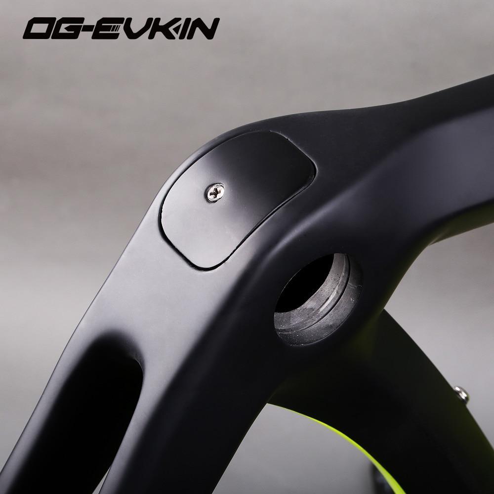 Quadro Carbono Speed Og-Evkin Di2 2018 +Selim+Fone De Ouvido
