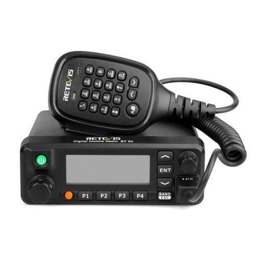 Retevis Rt90 Dmr Dual Band Display Digital 50W Mobile