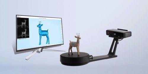 Scanner 3D 2018 Einscan Se Modo Fixo / Auto Dual 0,1Mm