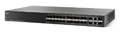 Switch 28P Cisco Sg300-28Sfp-K9-Na 26P Sfp+ 2P Comb Rj45