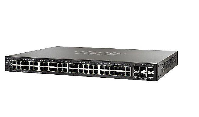 Switch 48P Cisco Sg500X-48P-K9-Na Poe + 4P 10 Gigabit Sfp+