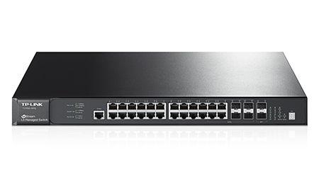 Tp-Link Hub Switch 28P T3700G-28Tq Jetstream L3 Pure Gigabit