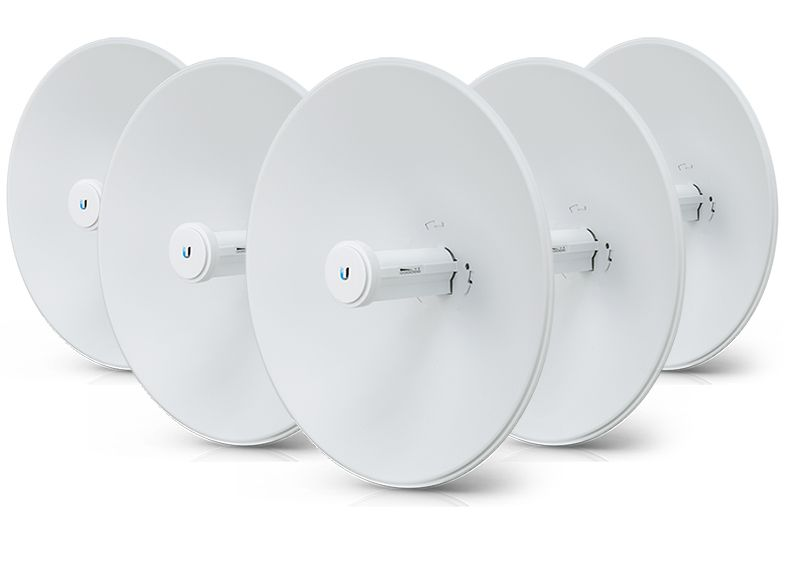 Ubnt Pbe-5Ac-Gen2-5-Br 5Ghz Powerbeam 5-Pack 450+Mbps 25Km