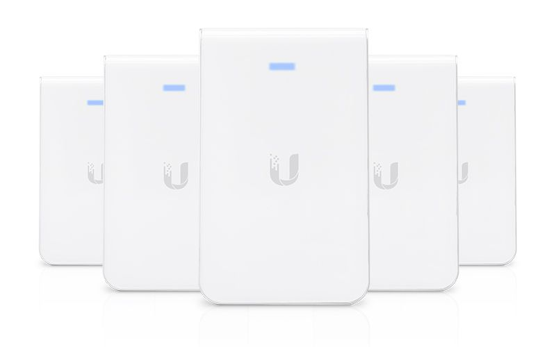 Ubnt Uap-Ac-Iw-Pro-5 Unifi Ap Ac In-Wall Pro 5-Pack