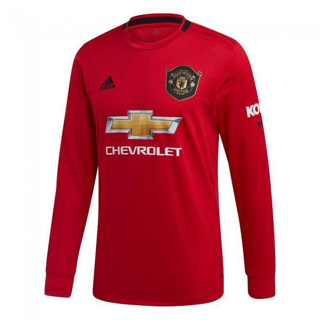 camisa manchester united manga longa 2020 titular climalite camisa manchester united manga longa 2020 titular climalite