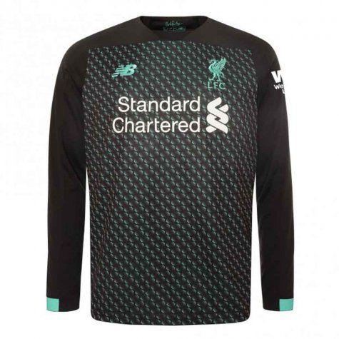 Camisa Manga Longa Liverpool 2020 Uniforme 3 New Balance Dry