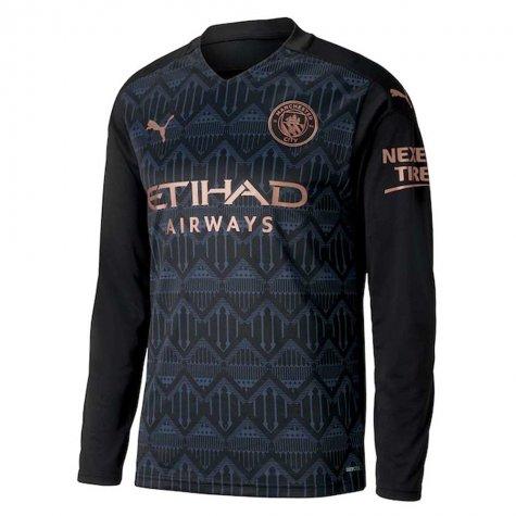 Camisa Manga Longa Manchester City 2021 Uniforme Reserva Dry Cell