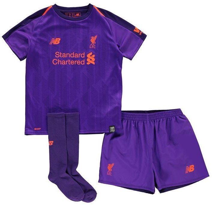 Kit Infantil Liverpool 2019 Uniforme 2 Completo New Balance