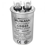CAPACITOR PERMANENTE CBB65 5.0UF - 450VAC