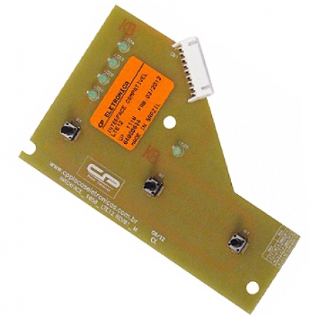 PLACA ELECTROLUX INTERFACE LTE12