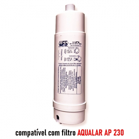 REFIL FILTRO BEBEDOURO (JET FLOW) 230 GDE Refil Purificador  Wfs 010 | Jet Flow