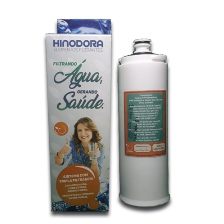 Refil para Filtro Purificador de água Dora Master Branco   Compatível Master Frio Rótulo Branco