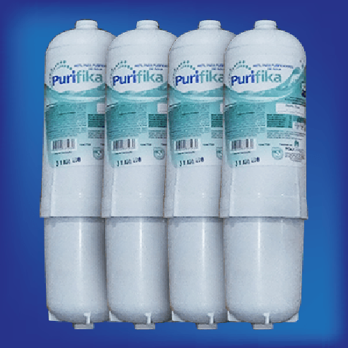 Refil para Filtro Purificador Purifika Policarbon | 4 unidades