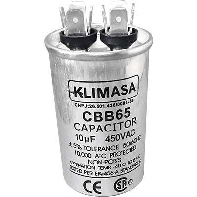 CAPACITOR PERMANENTE CBB65 10UF - 450VAC