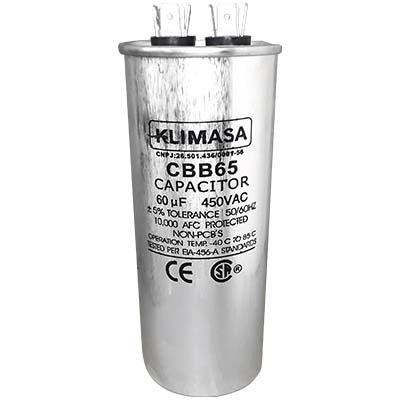 CAPACITOR PERMANENTE CBB65 60UF - 450VAC