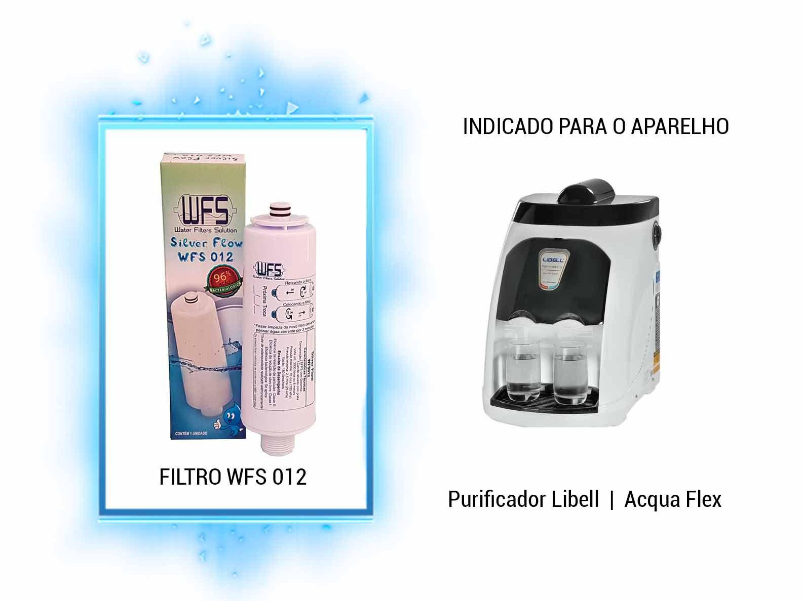 FILTRO BEBEDOURO (SILVER FLOW) LIBELL Refil Purificador Libell Wfs 012 | Silver Flow