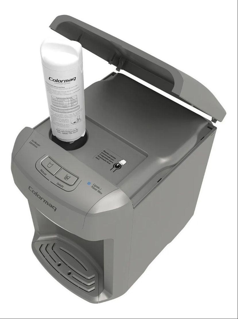 Kit Refil Filtro Purificador Bebedouro Colormaq Modelo Novo - 3 unidades
