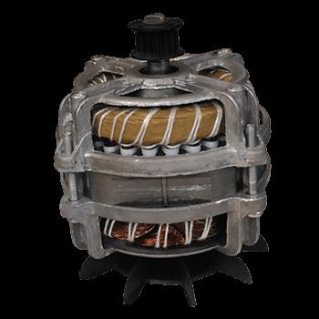 Motor para Tanquinho Latina 110V Polia Dentada