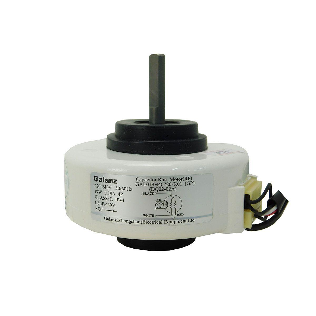 Motor Ventilador Evaporadora YORK/PHILCO 7/12BTUS